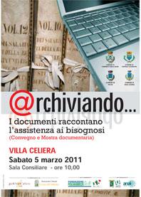 Locandina Convegno Archiviando